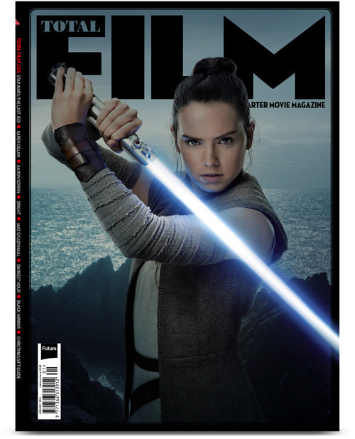 Total Film Magazine January 2018 #266 Star Wars: The Last Jedi Collectors Pack Daisy Ridley