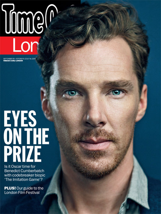BENEDICT CUMBERBATCH PHOTO COVER INTERVIEW TIME OUT MAGAZINE SEPTEMBER 2014