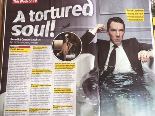 TV & Satellite Magazine May 2018: Benedict Cumberbatch Martin Freeman