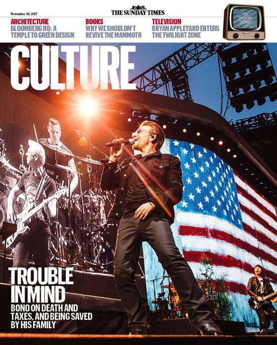 UK Culture Magazine NOVEMBER 2017: U2 / BONO COVER INTERVIEW