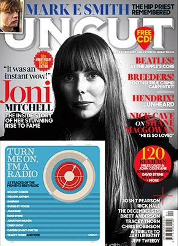 UNCUT magazine April 2018 - Joni Mitchell Mark E Smith Josh T Pearson Rick Hall