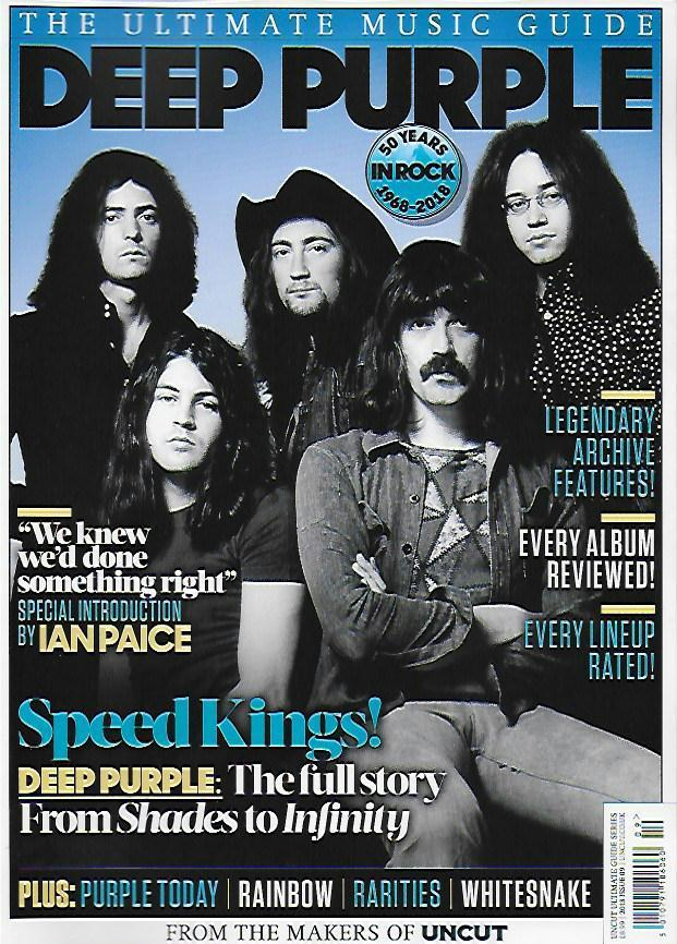 Deep Purple Uncut Ultimate Music Guide Collectors Edition UK MAGAZINE 2018 NEW