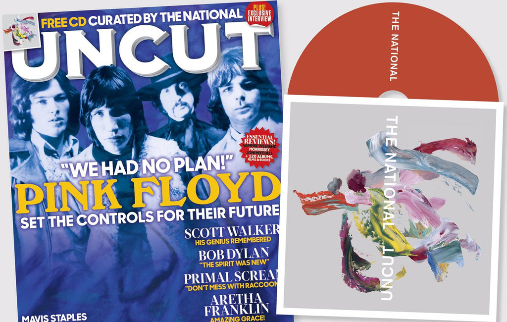 UK UNCUT magazine June 2019 - Pink Floyd Scott Walker + Free The National CD