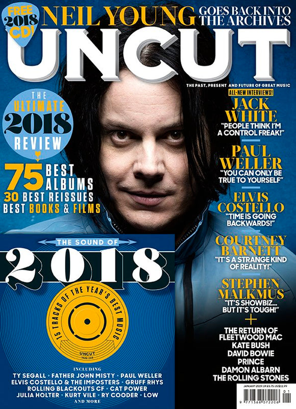 UK Uncut Magazine January 2019: Jack White Fleetwood Mac Paul Weller Prince