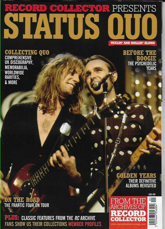 RECORD COLLECTOR PRESENTS Magazine - STATUS QUO