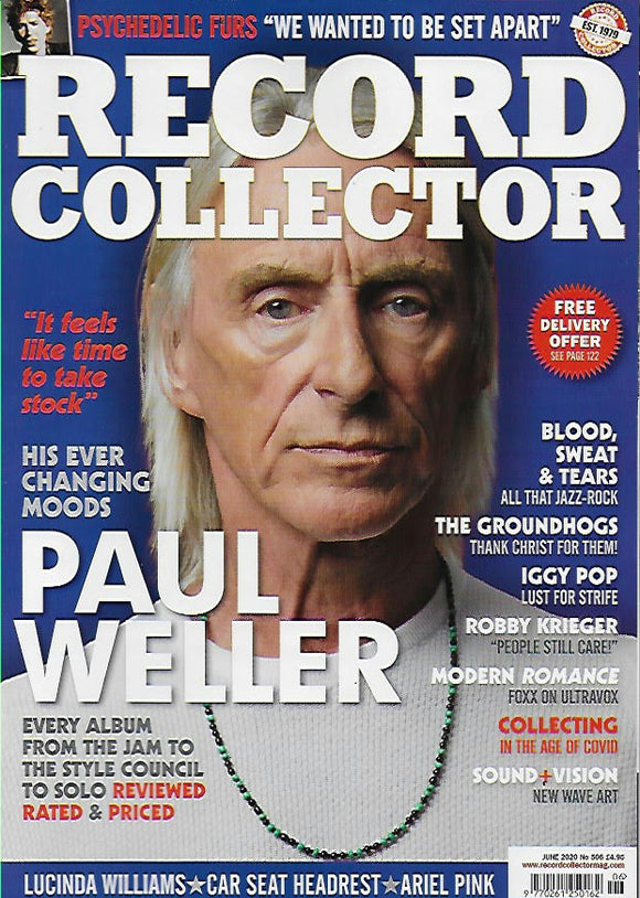 Record Collector – No.506 / June 2020 Paul Weller The Jam Iggy Pop