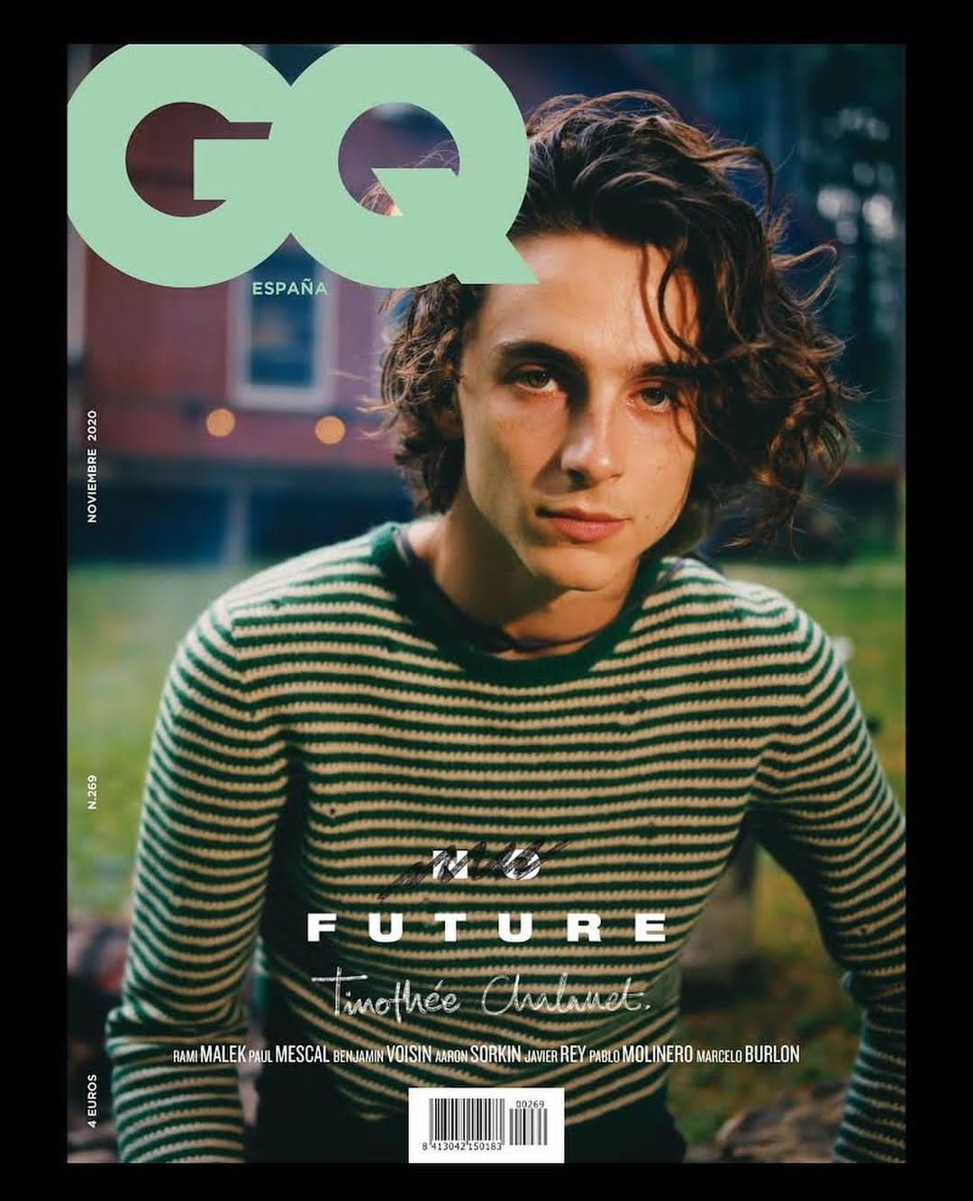 TIMOTHEE CHALAMET GQ SPAIN COVER MAGAZINE NOVEMBER 2020 Harry Styles