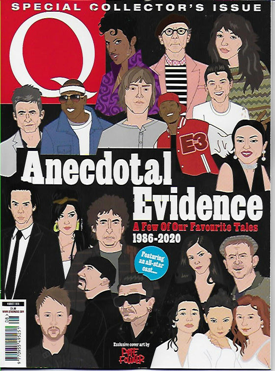 Q Magazine August 2020: KATE BUSH Bob Dylan PRINCE Bono U2 NICK CAVE Tina Turner
