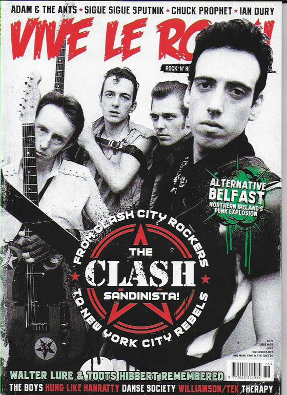 VIVE LE ROCK magazine Issue 76 THE CLASH & SANDINISTA JOE STRUMMER Ian Drury
