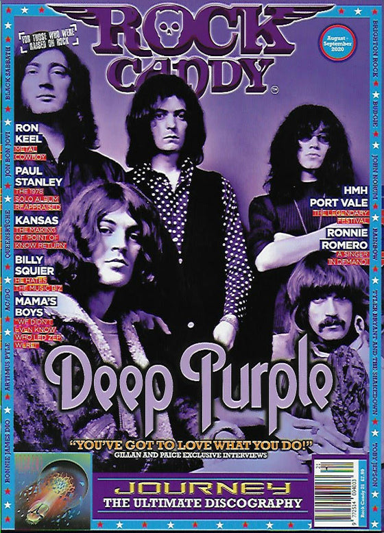 Rock Candy Magazine Issue 21: DEEP PURPLE Ian Gillan IAN PAICE Journey