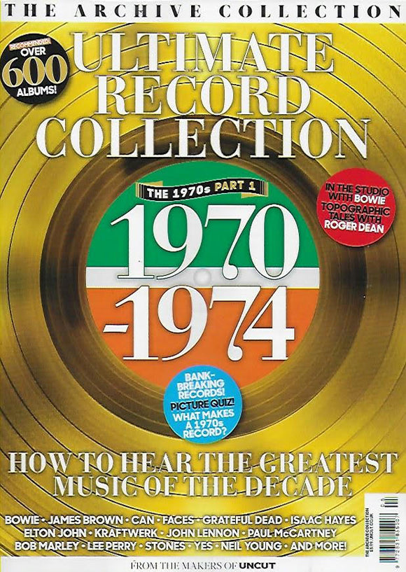 The Ultimate Record Collection 1970 – 1974 David Bowie John Lennon Paul McCartney Elton John