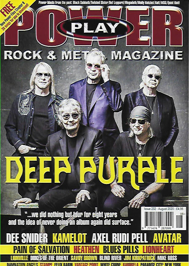 Power Play Magazine August 2020 #232: DEEP PURPLE COVER FEATURE