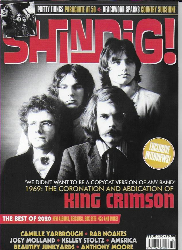 Shindig Magazine - Issue 110: KING CRIMSON Exclusive Interviews