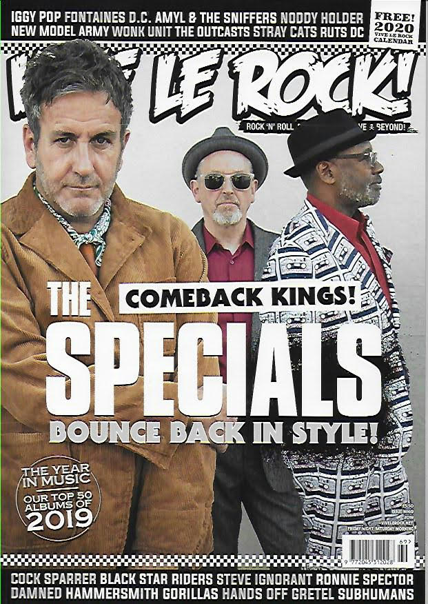 Vive Le Rock magazine #69 2019 The Specials, Iggy Pop, Cock Sparrer, Stray Cats