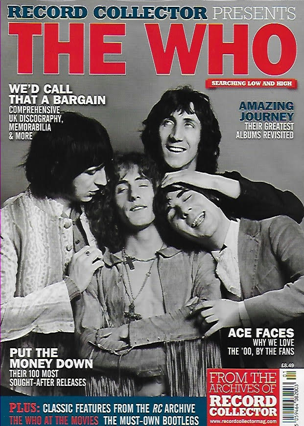 RECORD COLLECTOR PRESENTS Magazine - THE WHO Pete Townshend
