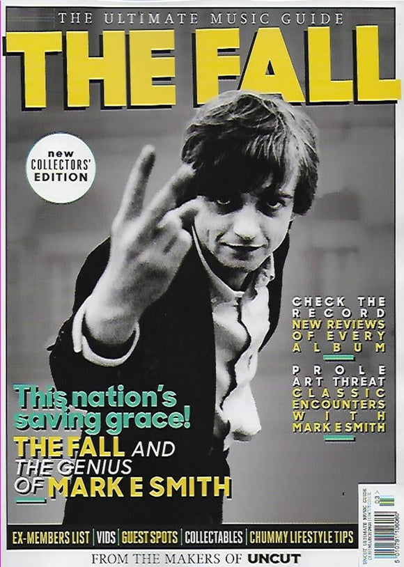 THE FALL Mark E Smith The Uncut Ultimate Music Guide Magazine March 2021