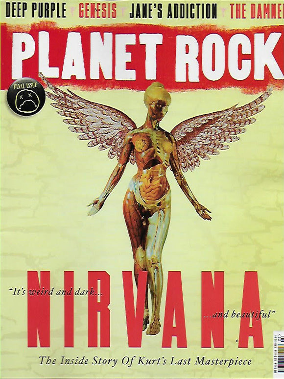 Planet Rock Magazine #22: NIRVANA Kurt Cobain THE DAMNED Deep Purple GENESIS
