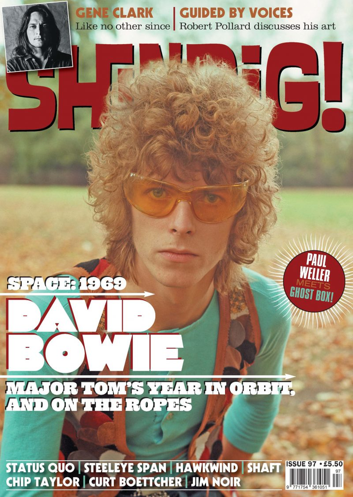 Shindig Magazine #97: David Bowie - Space 1969 Special