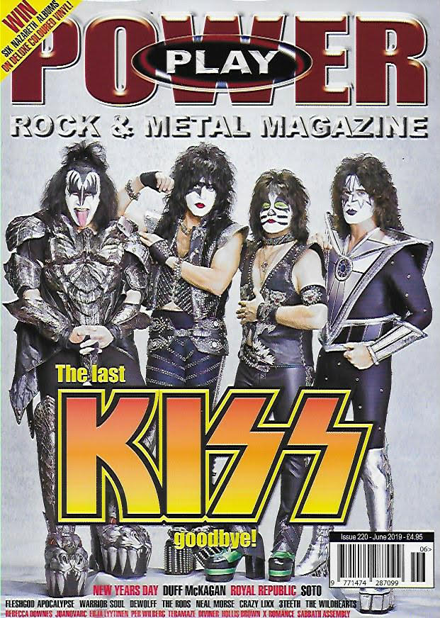 Power Play Magazine - Issue 220 / June 2019 (Featuring KISS)