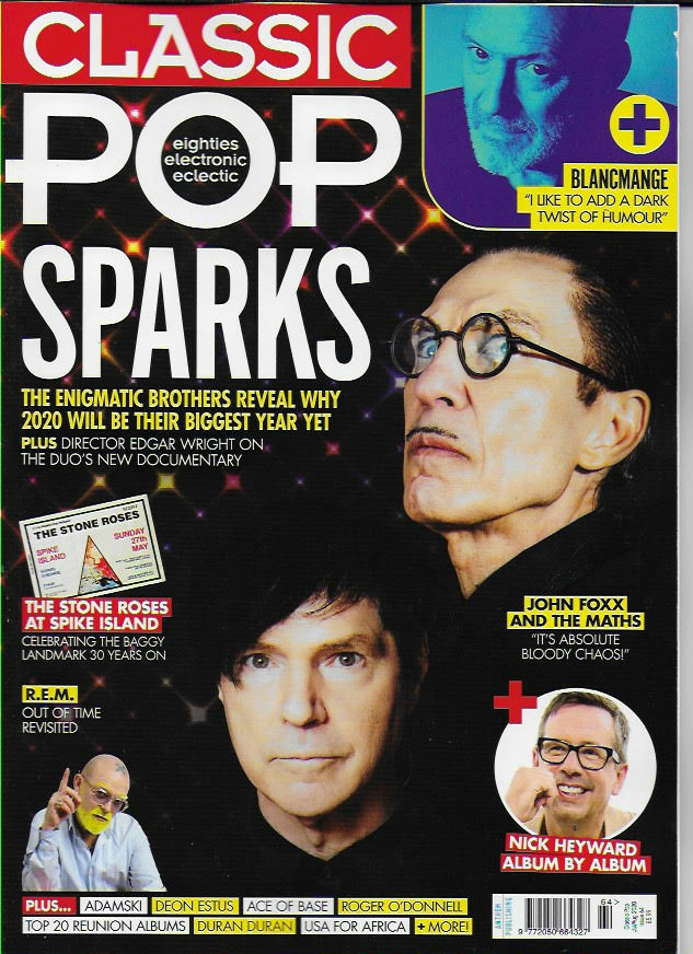Classic Pop #64: July/August 2020 Sparks REM Duran Duran NICK HEYWARD