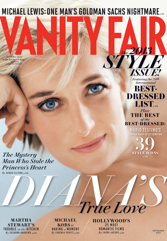 Princess Diana UK Vanity Fair Magazine September 2013