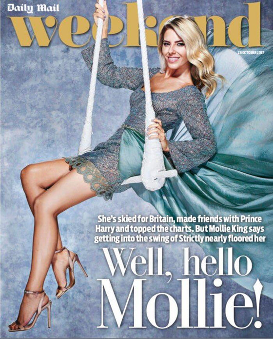 UK Weekend Magazine October 28 2017 Mollie King Sean Bean Martin Shaw Philip Glenister