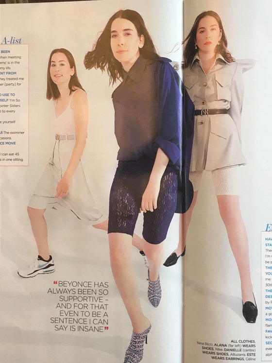 UK YOU magazine July 2018: HAIM Exclusive Interview