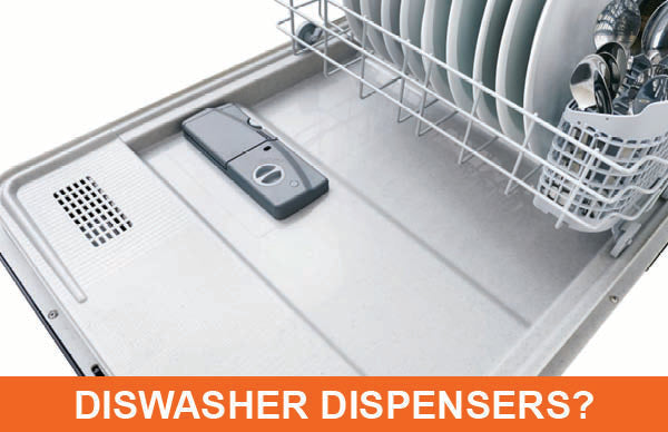How Dishwasher Detergent Dispensers Work?