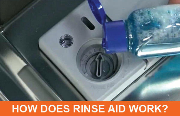 How Does Dishwasher Rinse Aid Work?
