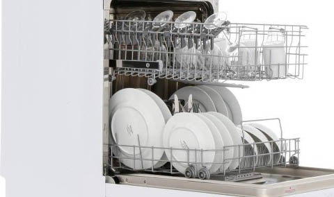 Dishlex DSF6106W Freestanding White Dishwasher