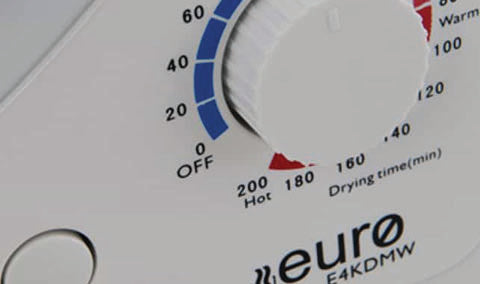 EURO E4KDMW Vented Dryer