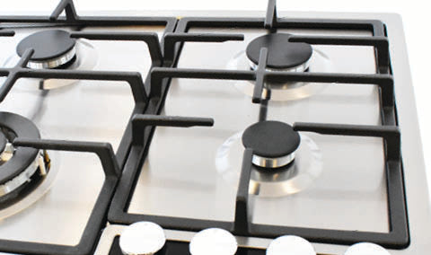 Kardi KAG70SSX2 70cm Stainless Steel Gas Cooktop