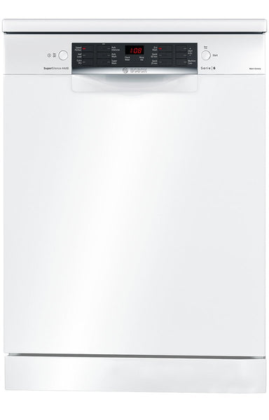 Bosch SMS66MW01A Serie 6 Freestanding Dishwasher - Stove Doctor