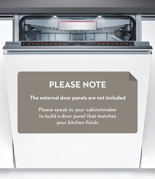 Bosch SMV88TX02A Serie 8 Fully Integrated Dishwasher - Stove Doctor