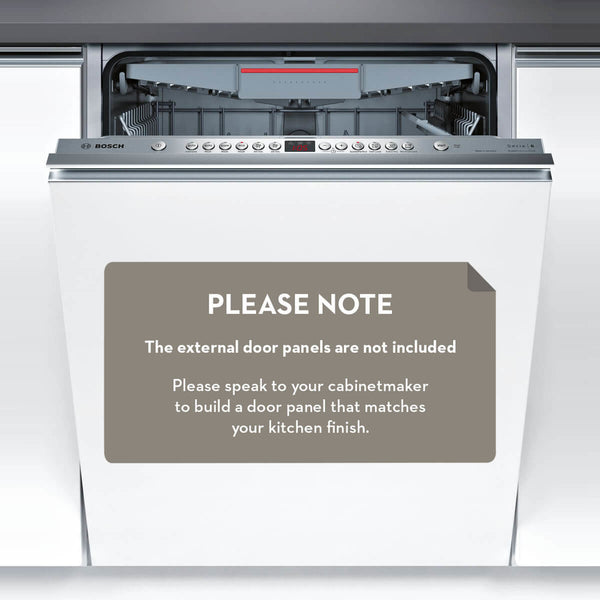 Bosch SMV66MX01A Serie 6 Fully Integrated Dishwasher - Stove Doctor
