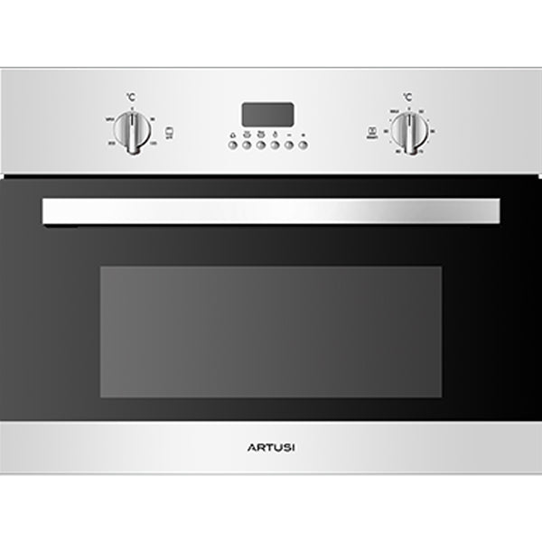 Artusi ACSO45X 45cm Compact Electric Built-In Combi-Steam Oven