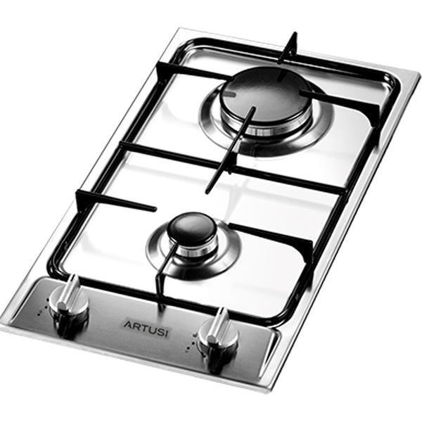 Artusi AGH30XFFD 30cm Stainless Steel Gas Cooktop