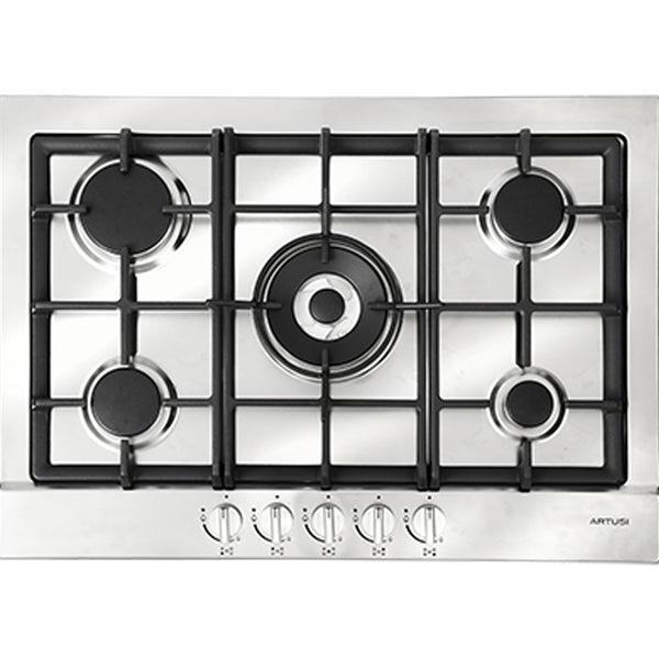 Artusi AGH70XFFD 70cm Stainless Steel Gas Cooktop