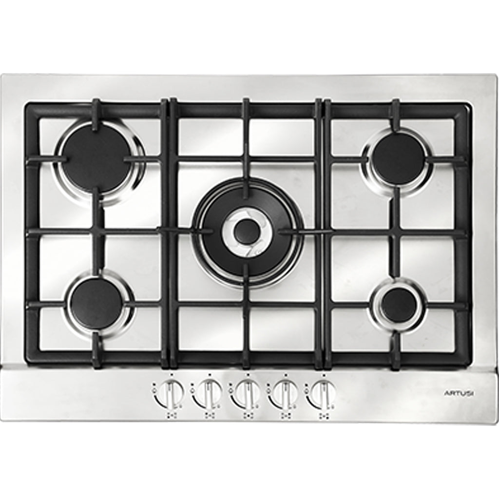 Artusi AGH71XFFD 70cm Stainless Steel Gas Cooktop