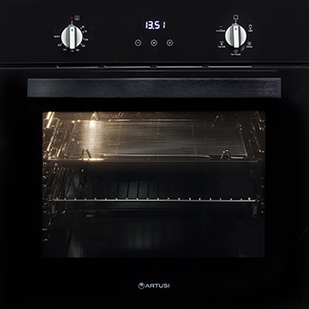 Artusi AO601B 60cm Single Black Oven