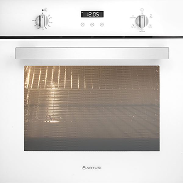Artusi AO601W 60cm Single White Electric Oven