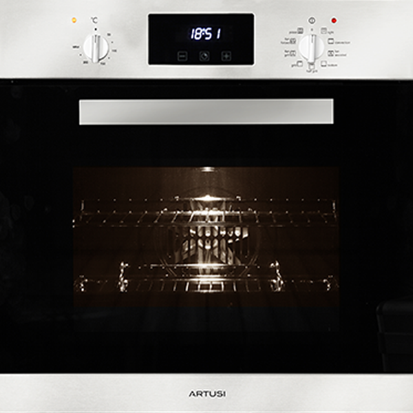 Artusi AO651X 60cm Single Stainless Steel Electric Oven