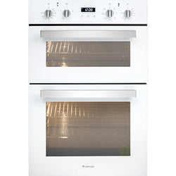 Artusi CAO888W Double White Electric Oven