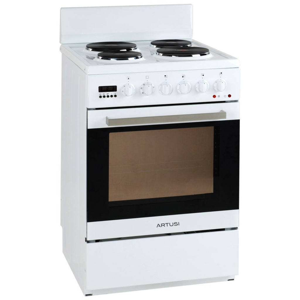 Artusi AFE547W 54cm Freestanding White Electric Stove