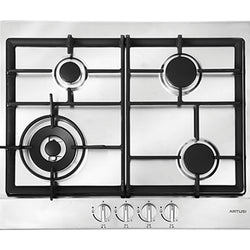 Artusi AGH65X 60cm Stainless Steel Gas Cooktop