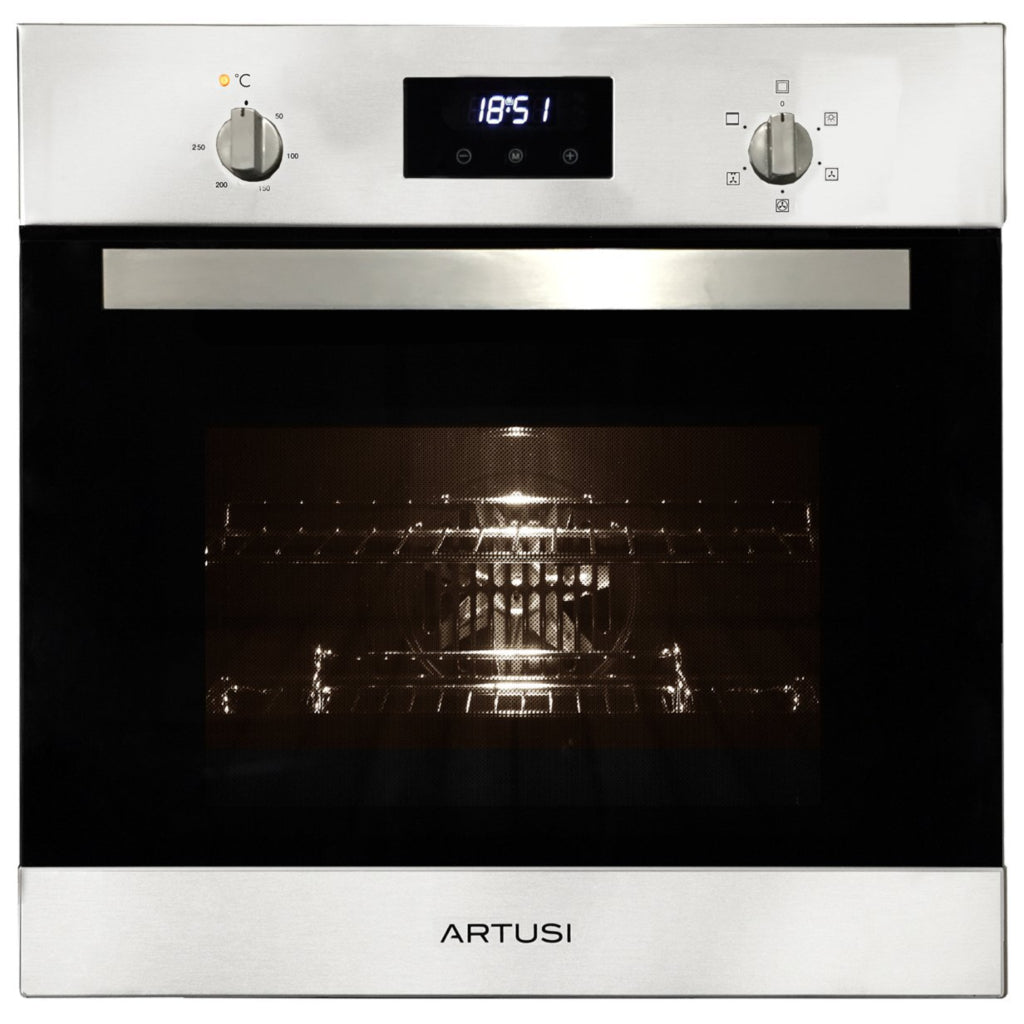 ARTUSI AO601X1 60cm Single Built In Electric Oven