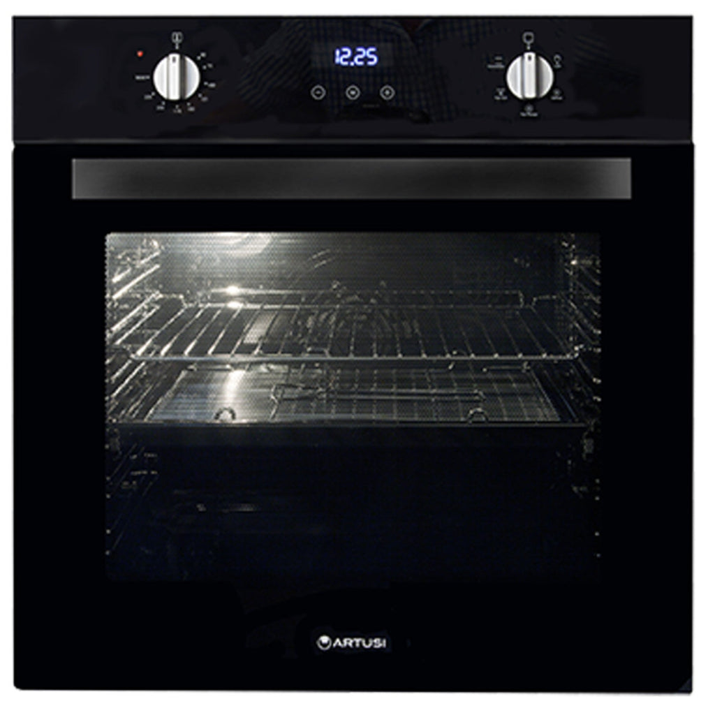 Artusi AO676B 60cm Single Stainless Steel Electric Oven