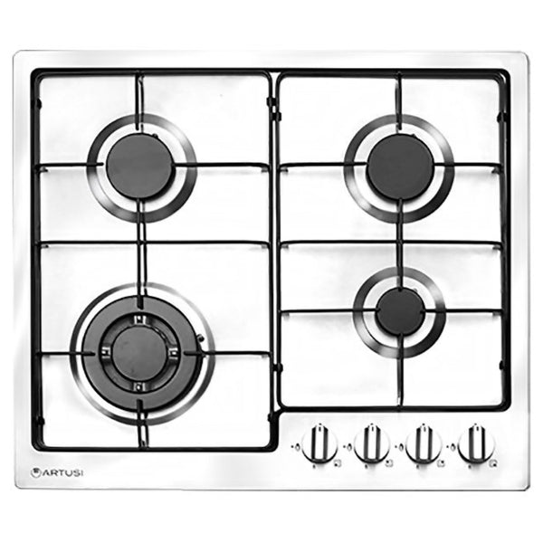 Artusi CAGH600X 60cm Stainless Steel Gas Cooktop