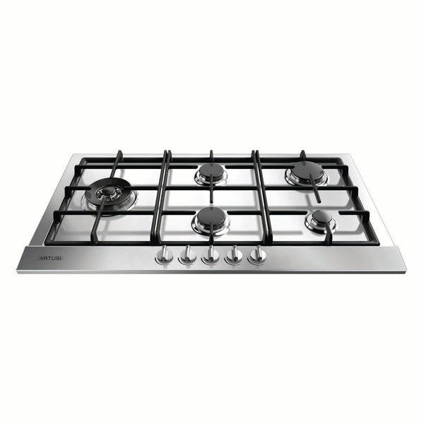 Artusi CAGH95X 90cm Gas Stainless Steel Cooktop