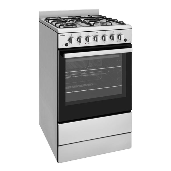 Chef CFG504SBNG 54cm Freestanding Natural Gas Stove - Stove Doctor